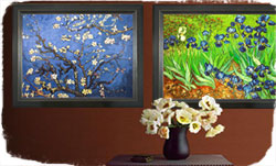 Arranging your art on your walls