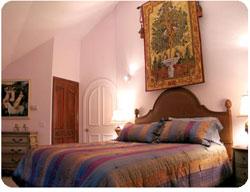 oil paintings in the bedroom
