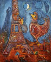 Chagall - Bonjour Paris, 1939-1942