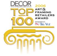 Top 100 Decor Magazine Art & Framing Retailers