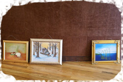 hanging art on your wall