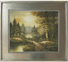 Landscape oil paintings