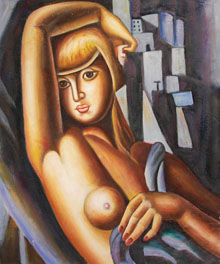 Tamara De Lempicka oil paintings