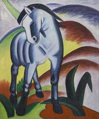 Franz Marc - Blue Horse I - Monaco