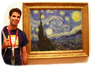 Starry Night in the MoMA